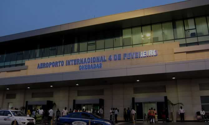 luanda international airport passenger terminal